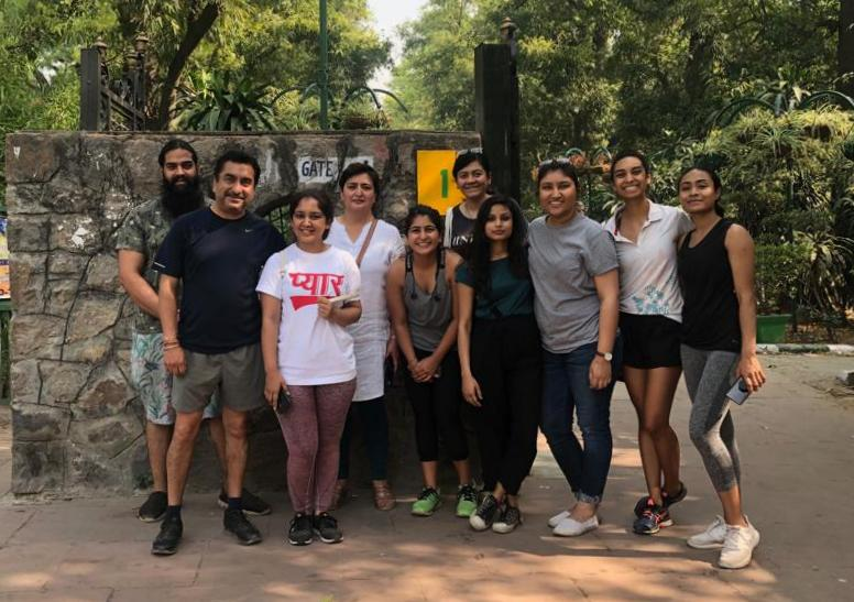 SUI Nature Walk at Lodhi Garden