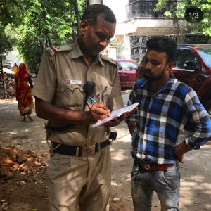 Filing Complaints & preventing tree felling in New Delhi-New Delhi Nature Society NGO