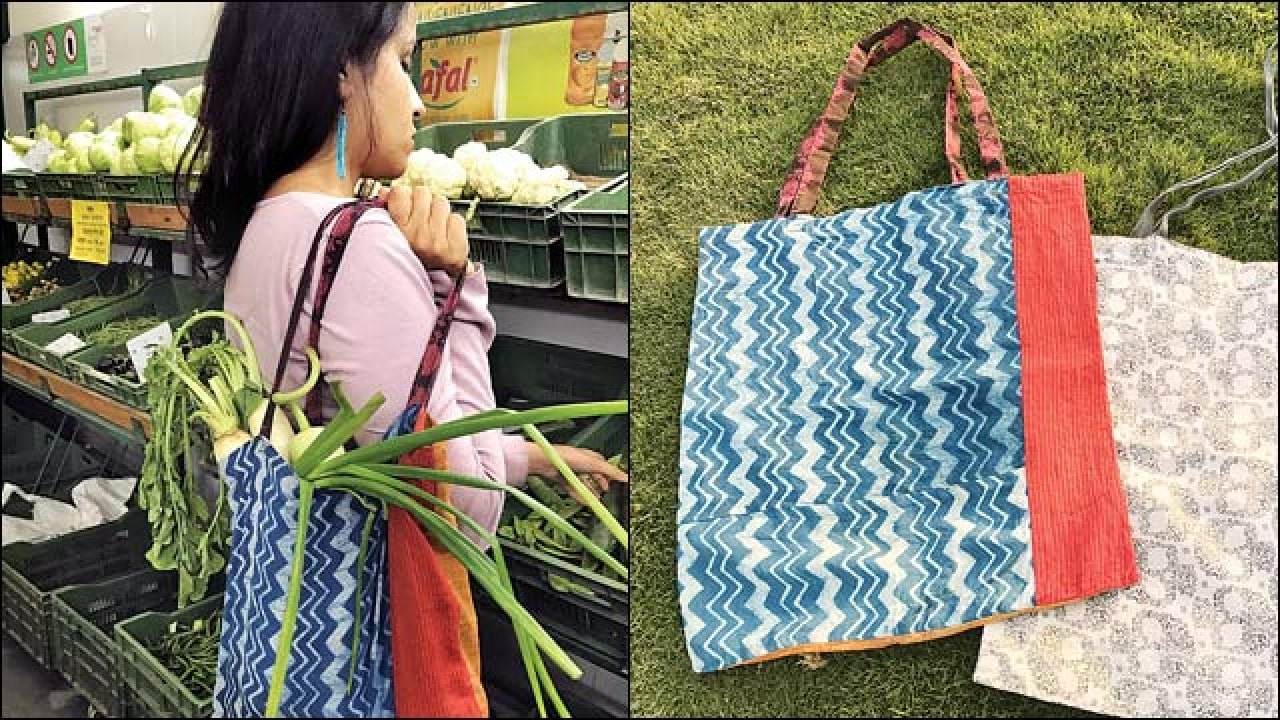green 'cool bags' ahead of plastic ban-Saving Trees-Saving environment-New Delhi Nature Society NGO Delhi